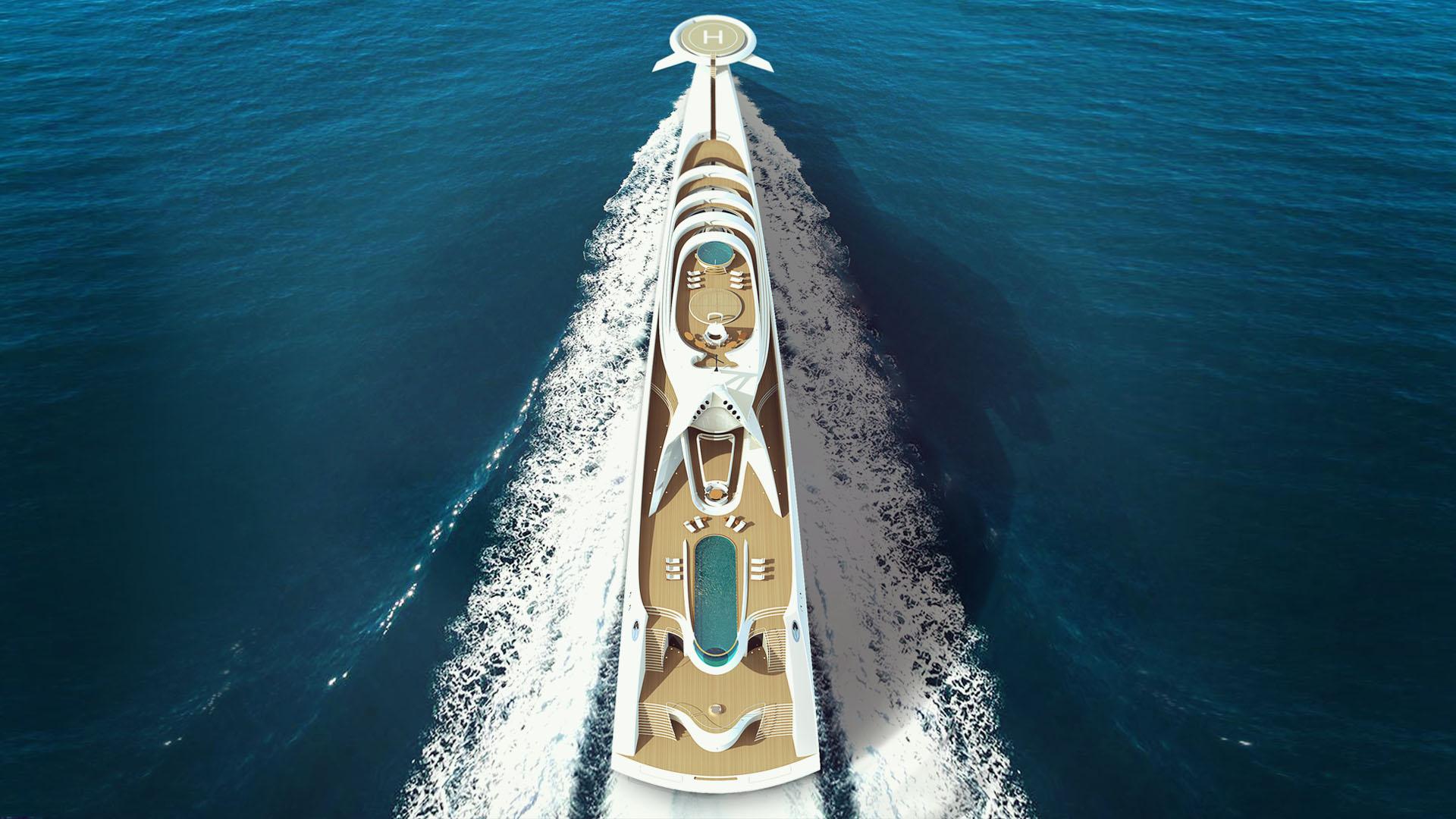 Nejvesti jachty na svete - L'amage