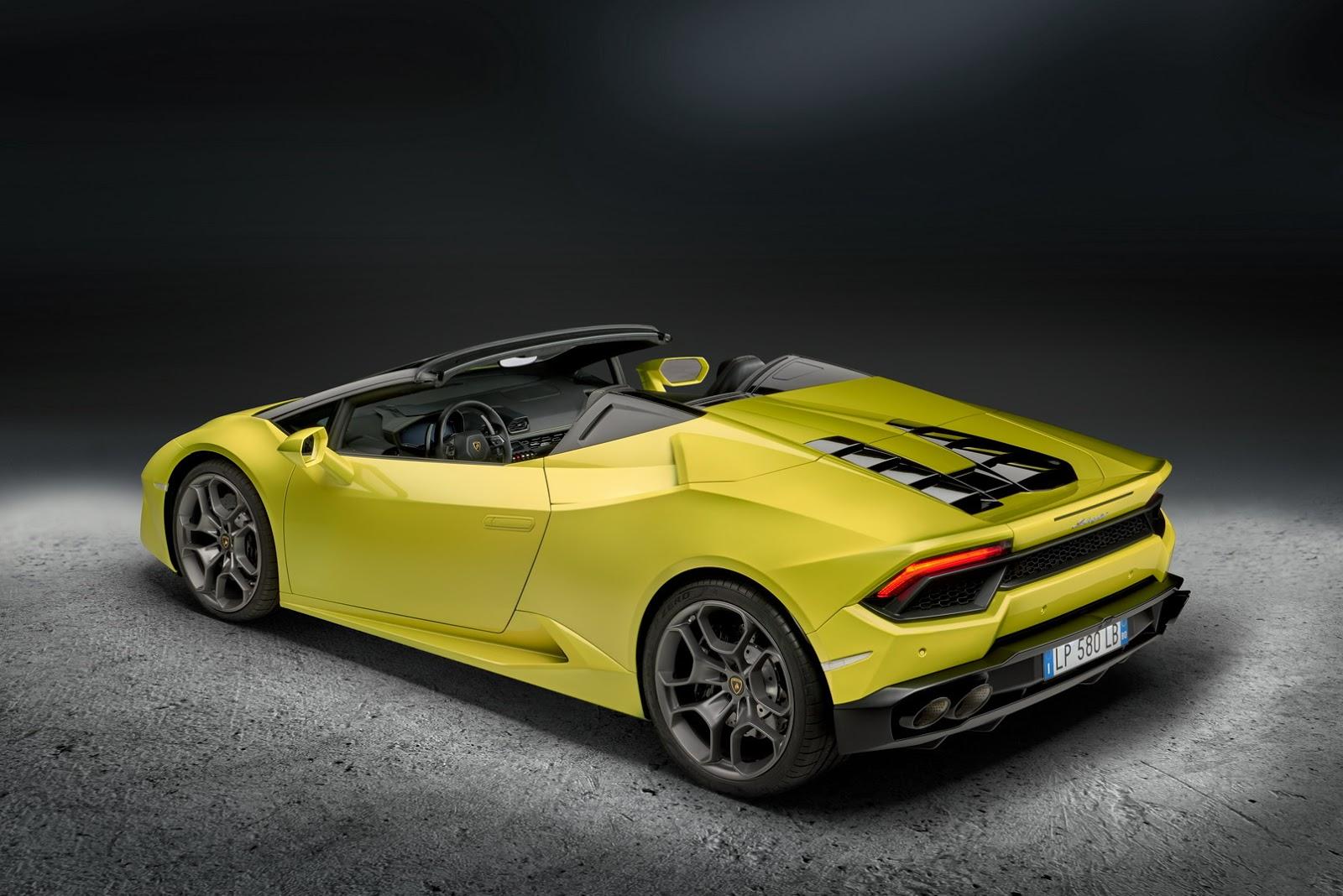 Recenze Lamborghini Huracán Spyder