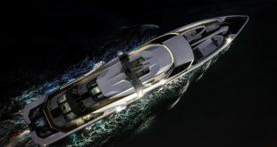 Luxusní jachta Revolution od Jongert Yachts