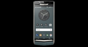 Vertu Signature Touch Teal Fluted Edition