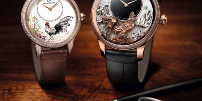 Jaquet Droz Fire Rooster