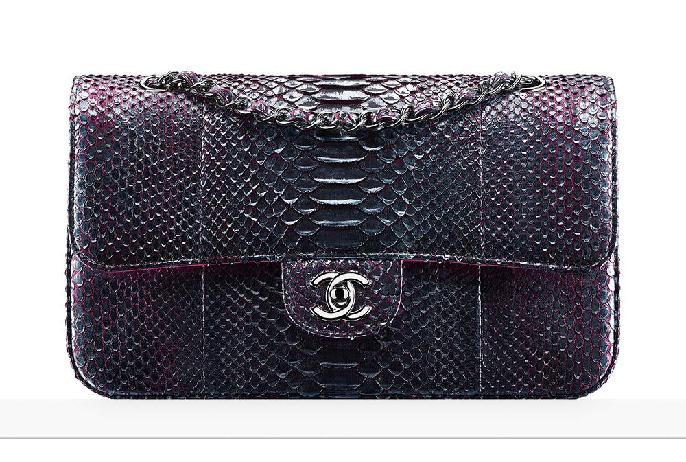 chanel-python-classic-flap-bag