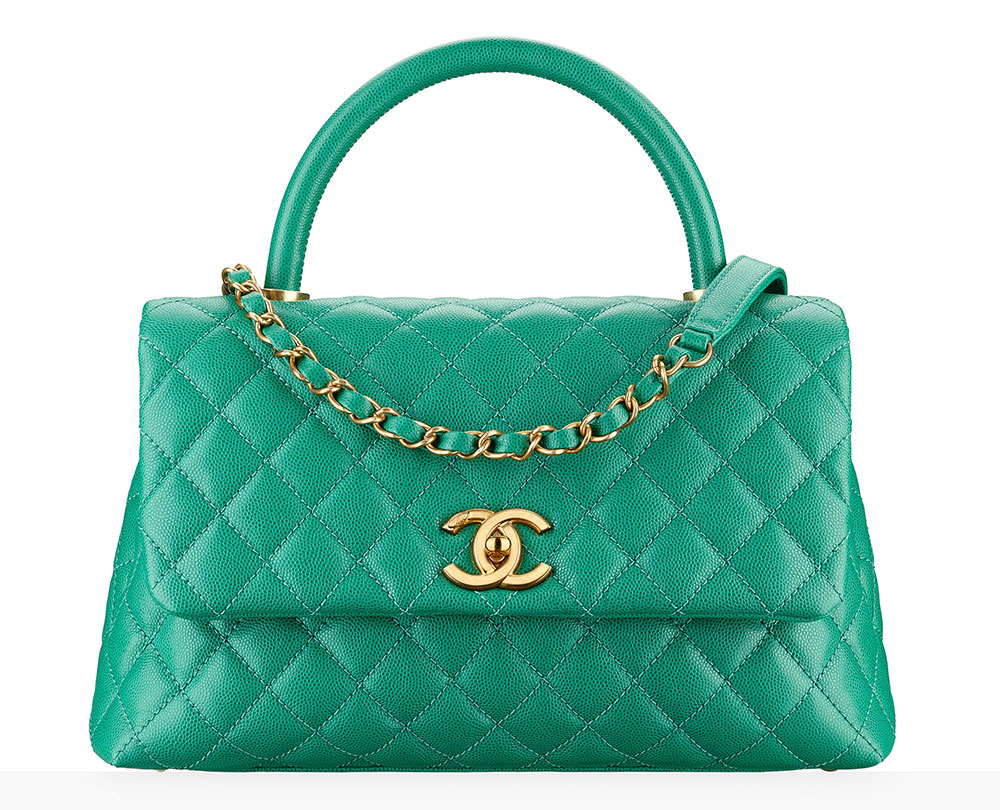 chanel-top-handle-flap-bag-green-80-92
