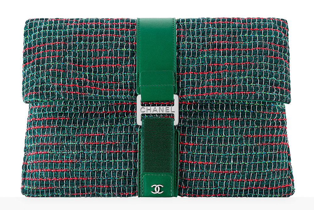 chanel-tweed-clutch-green-85-92