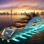 Luxusní 120m jachta Oceanco Amara