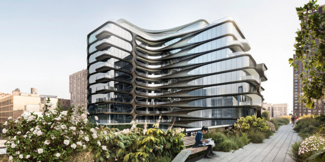 Luxusní rezidence Zaha Hadid New York