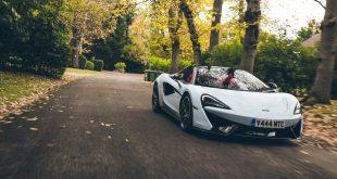 McLaren 570S Spider a nový odstín bílé